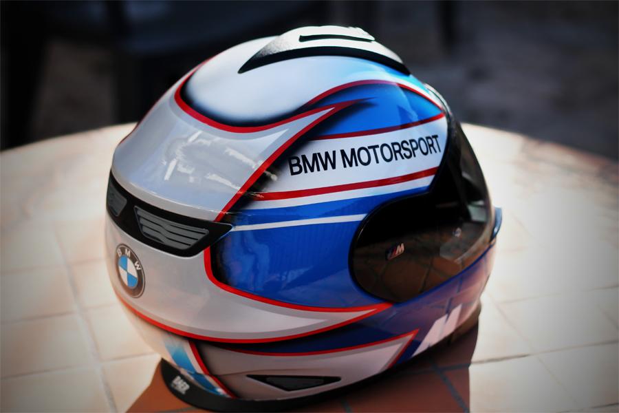 racing helmets garage schuberth sr2 bmw motorsport by. Black Bedroom Furniture Sets. Home Design Ideas