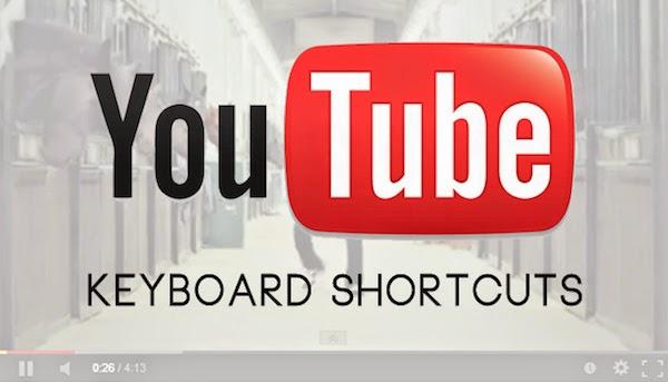 30 Keyboard Shortcuts Make YouTube Better