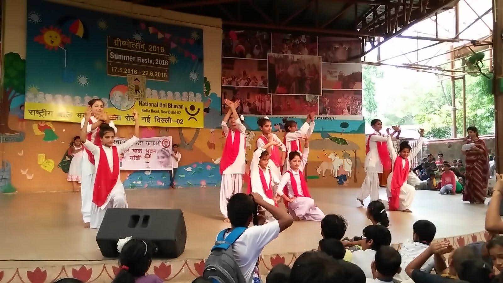 Presentation at National Bal Bhavan