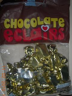 chocolate eclairs