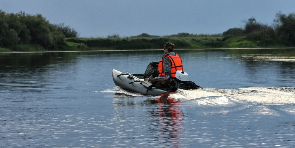 Надувная лодка-катамаран