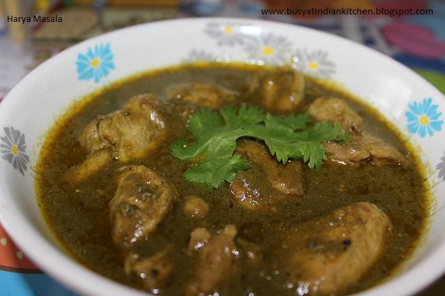harya chicken masala