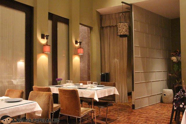Classy Interior of Kai Restaurant