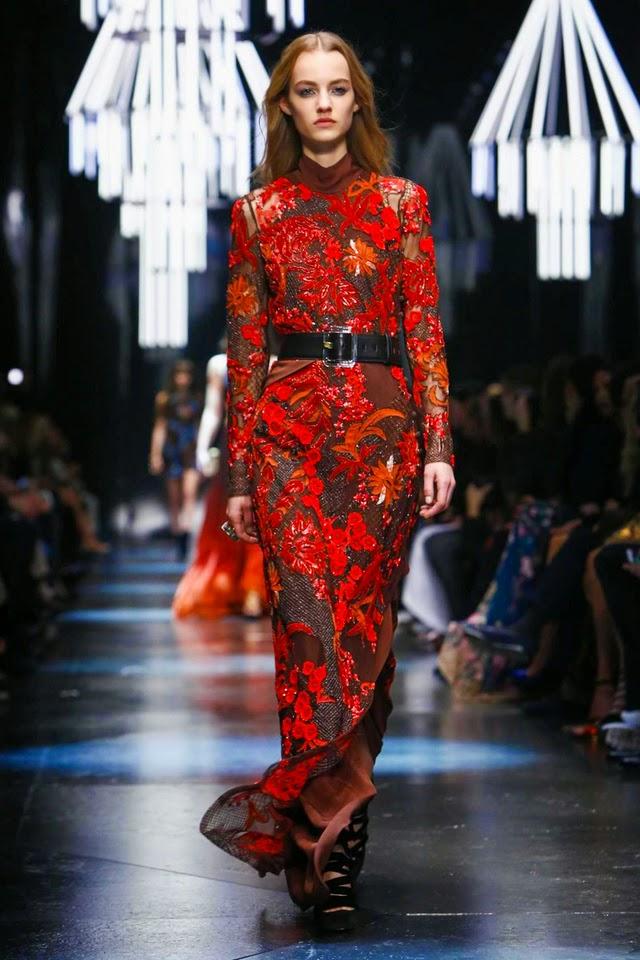 أسبوع الموضة في ميلانو : أزياء روبيرتو كافالي لخريف 2015, أزياء روبيرتو كافالي لخريف 2015