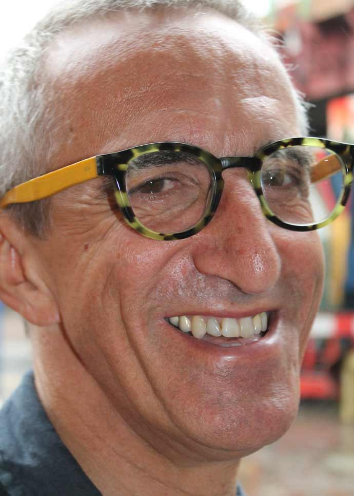 Brixton Village #2:Paul in Eyebobs tortoiseshell and bamboo glasses from the V&A shop