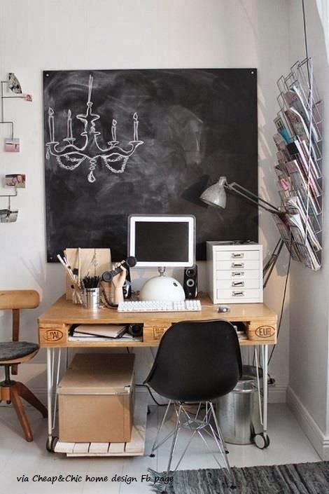 Tangerine Tango: 17 ideas creativas para decorar tu hogar con pallets.