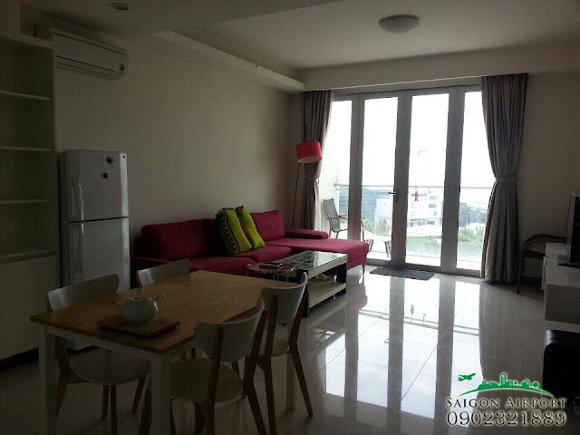 Giá bán căn hộ Saigon Airport Plaza | phòng khách