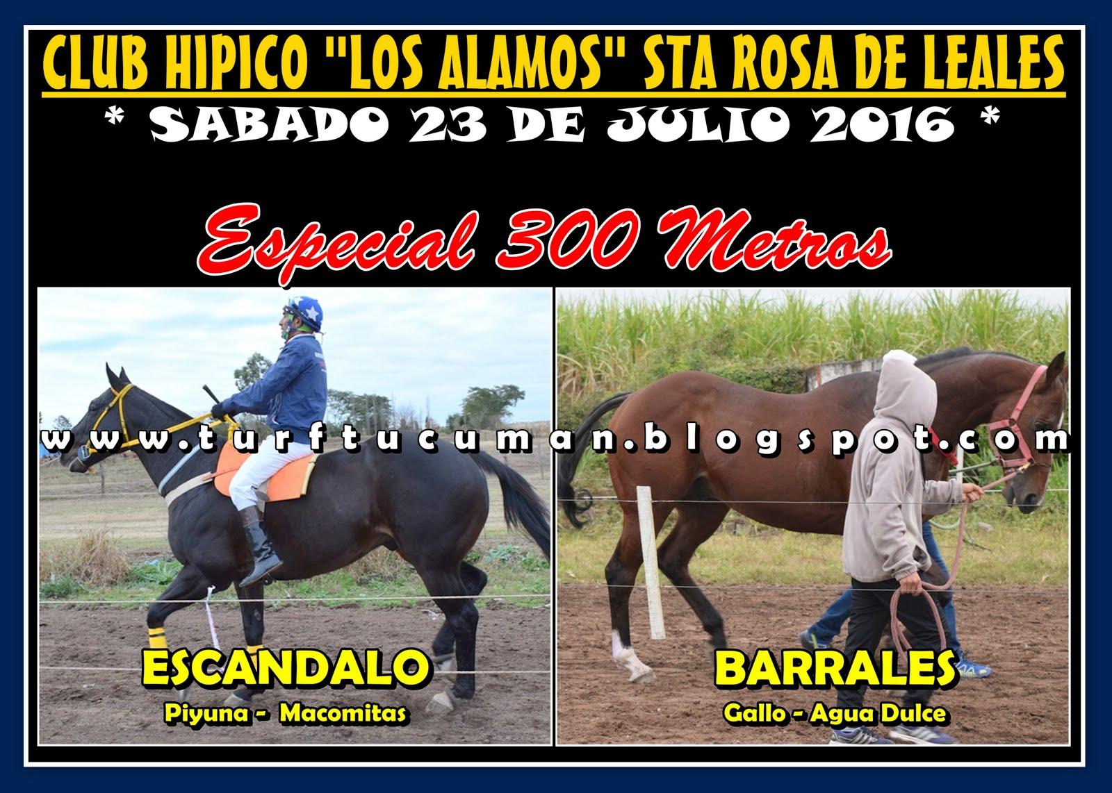 ESCANDALO VS BARRALES