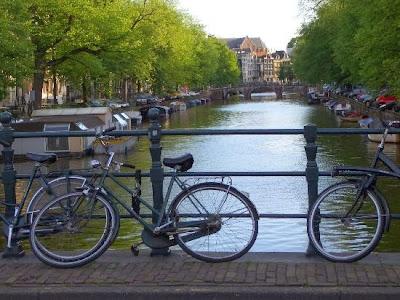 Moverte en bici por Amsterdam