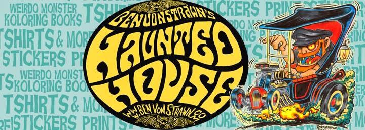 BEN VON STRAWN'S HAUNTED HOUSE