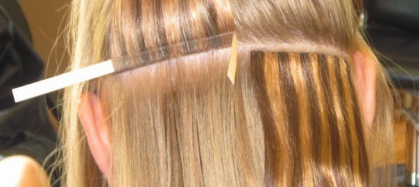 Hair extensions most tape extensions do not have clear bonds and can at times be seen through the hair it can be harder to tie your hair up as you need to be sure that the pmusecretfo Image collections
