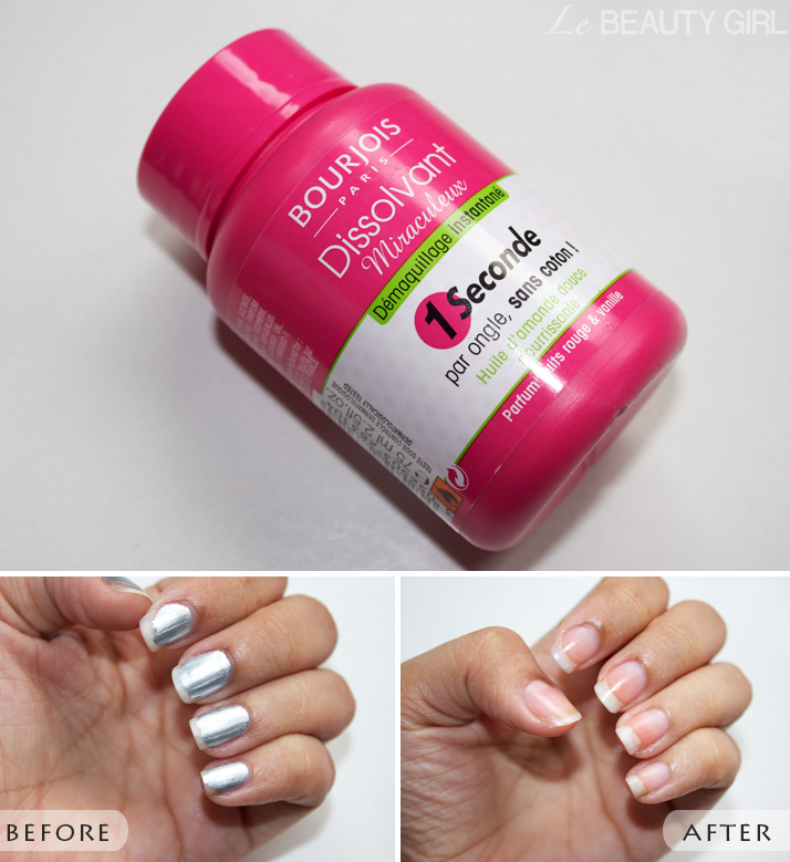 Photo Review: Bourjois Magic Nail Polish Remover