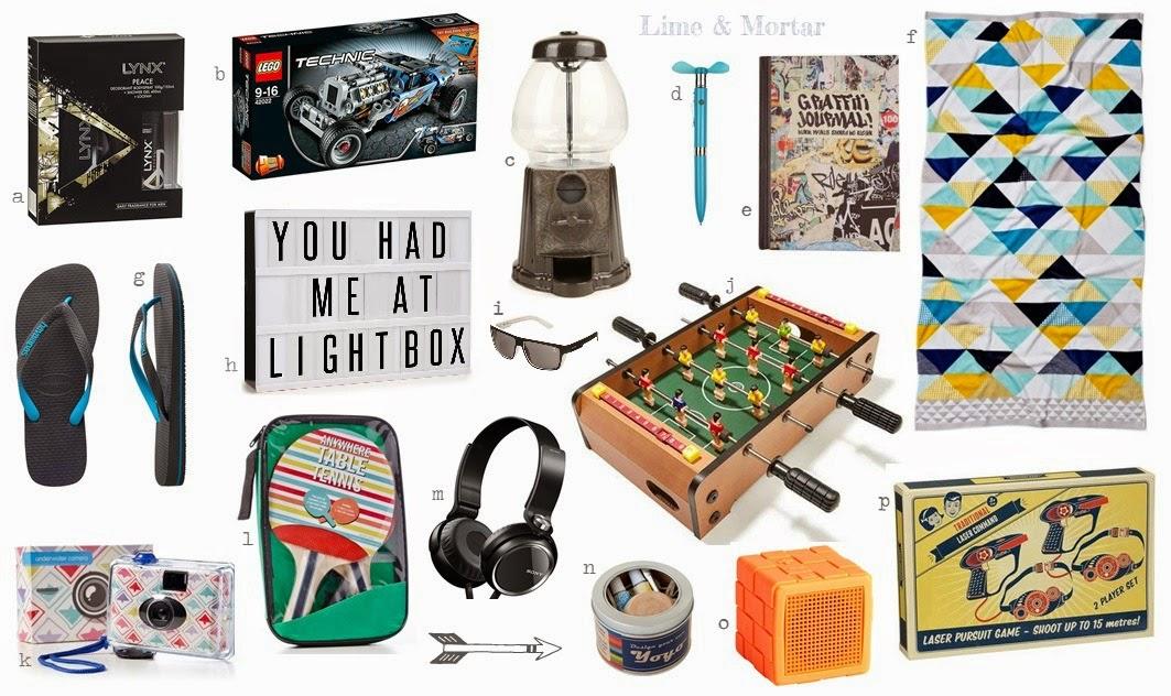Teen christmas gift ideas boys