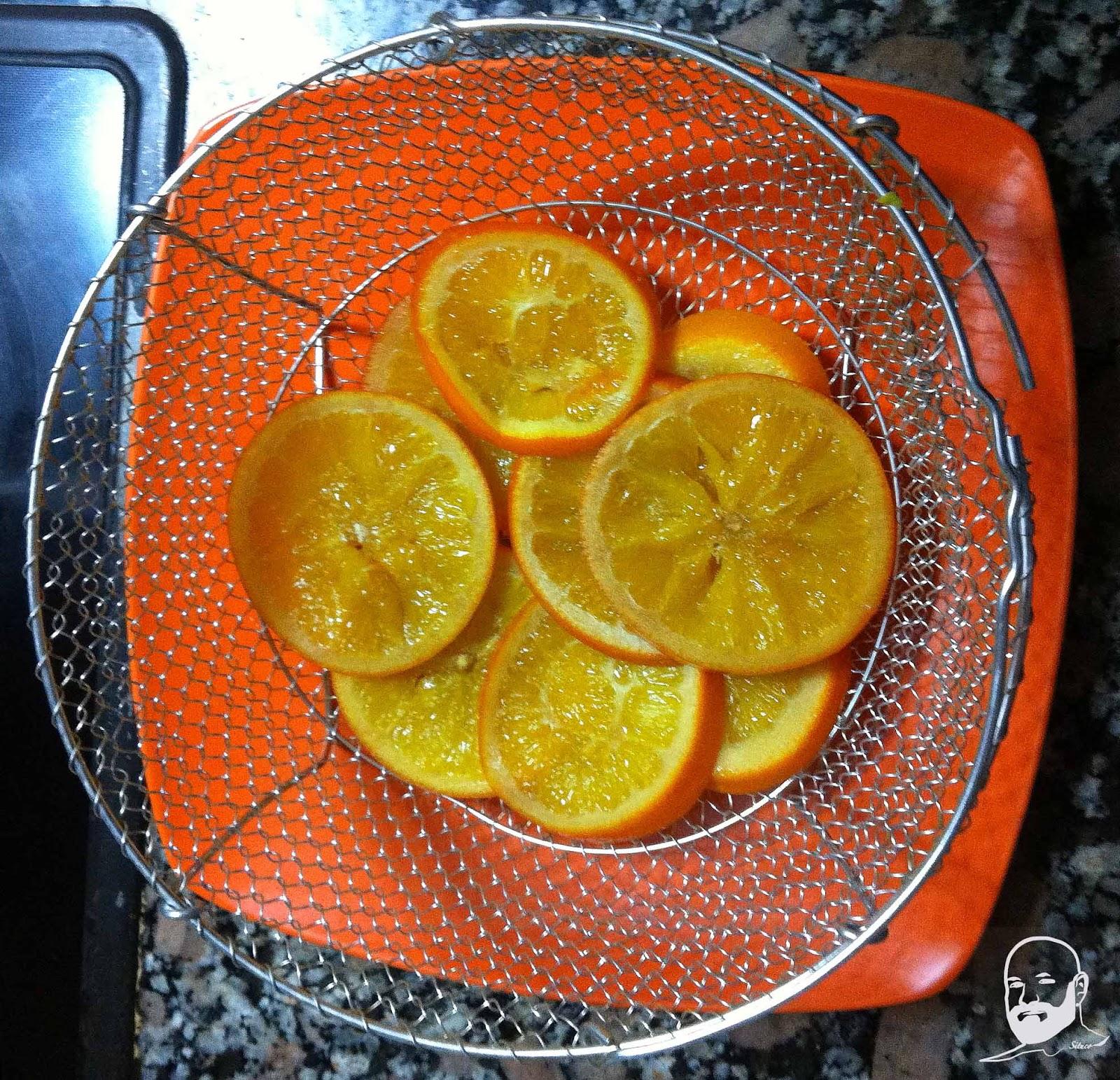 Cocinando en mi casa rodajas de naranja caramelizadas for Cocinando en mi casa