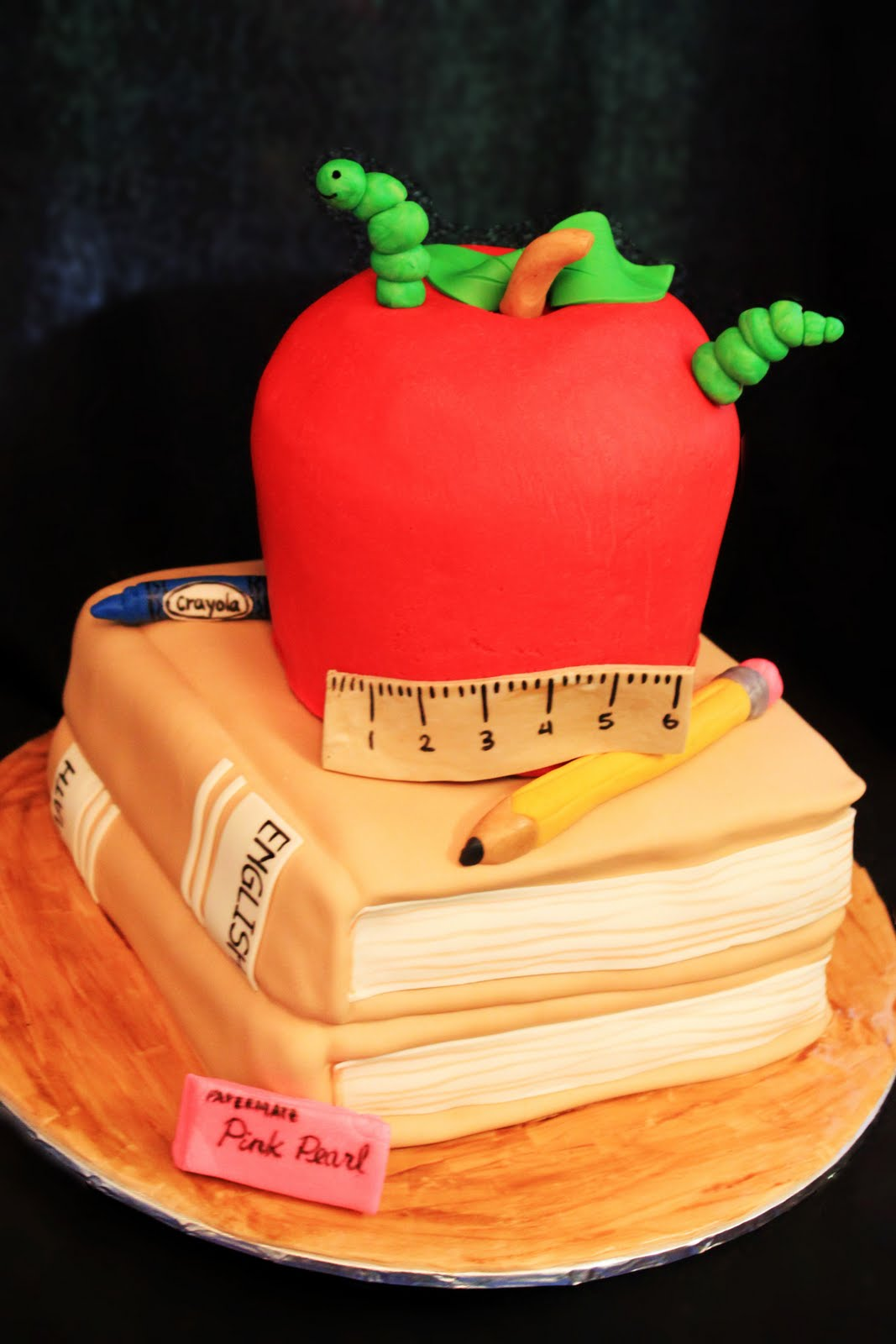 Cake Images For Teacher : Pin Teacher S Birthday Cake June Cake on Pinterest