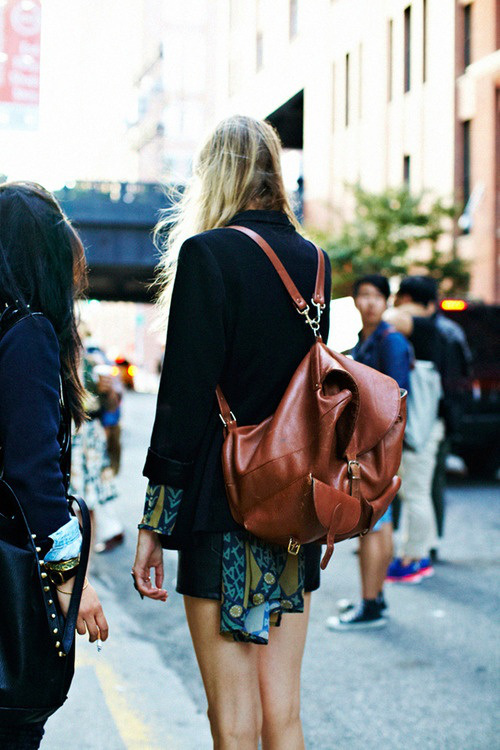 Street style Fashion Backpack