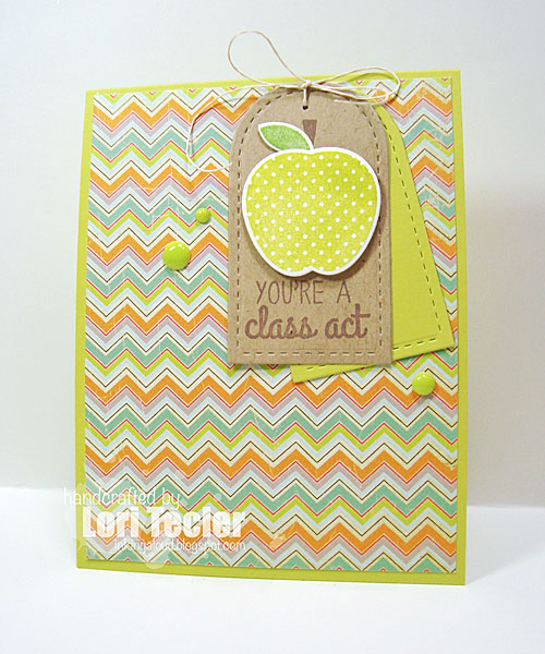 You're a Class Act card-designed by Lori Tecler/Inking Aloud-stamps from Reverse Confetti