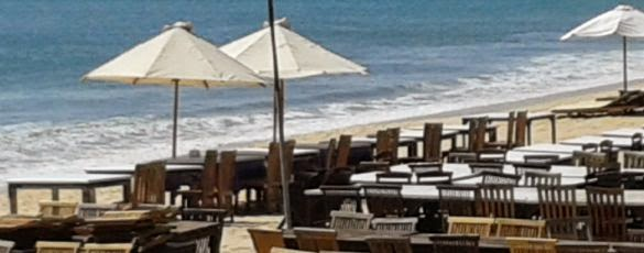 Makan Malam Di Restoran Seafood Pantai Jimbaran - Jimbaran, Badung, Denpasar, Bali, Liburan, Wisata, Restoran, Atraksi, Objek Wisata
