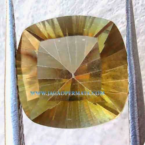 Batu Permata Yellow Mystic Quartz