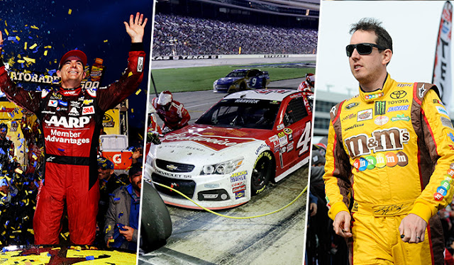 A look at Jeff Gordon, Kevin Harvick and Kyle Busch this weekend in Texas