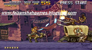 Metal slug x game