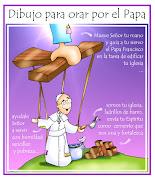 Mensajes inéditos del Papa Francisco - Misiones Canarias dibujo oraciã³n por el papa