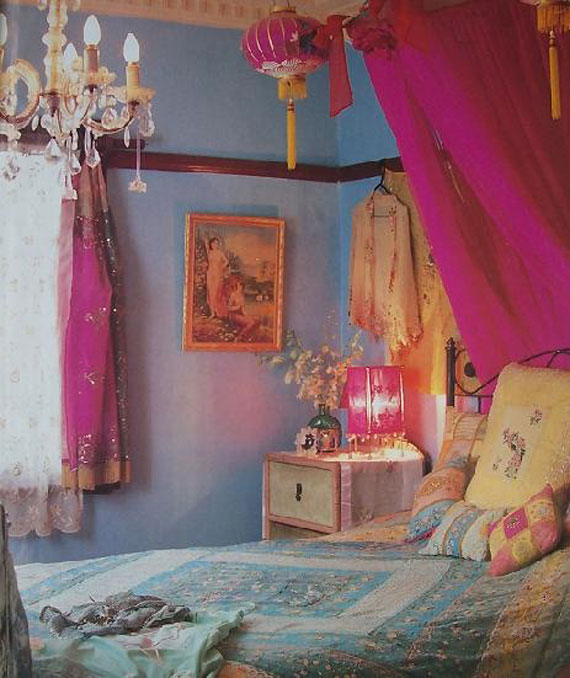 Boho chic bohemian interiors shabby chic interiors design bedrooms