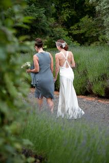 Tasma House Lavender Bride Photo
