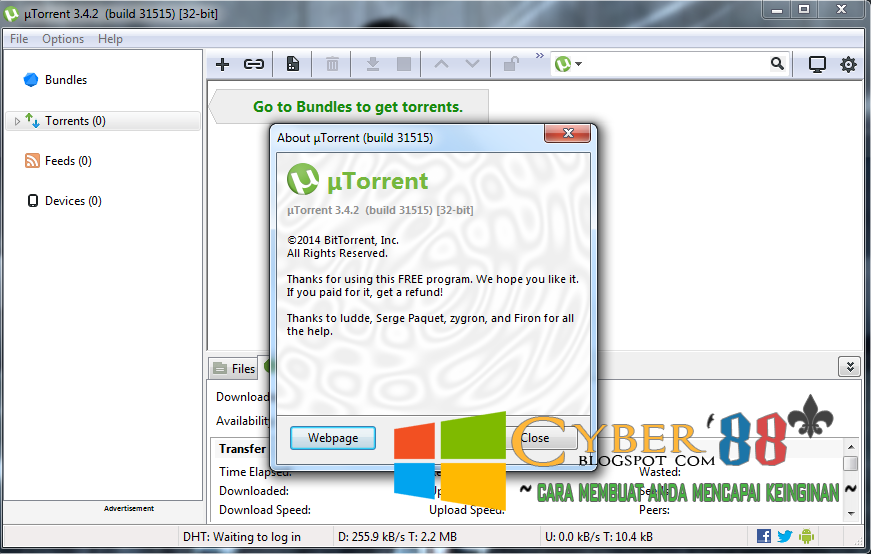 Download uTorrent 3.4.2 Build 31515 Full Version