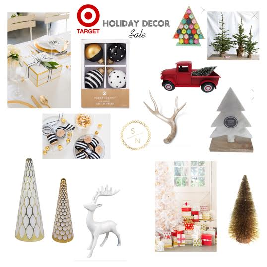 ive spotted a lot of great ornaments gift wrap and decor the past couple weeks and rounded up a couple of my favorites for you - Target Christmas Decorations Sale