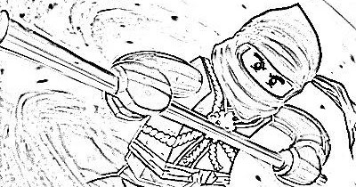 Cole Lego Ninjago Colouring Pages Learn To Coloring