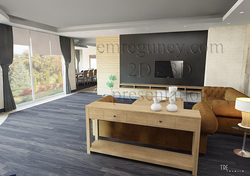Konut salonlar i for 3d salon design software