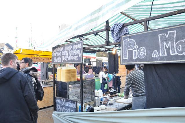 Camden Town Market pie and mash