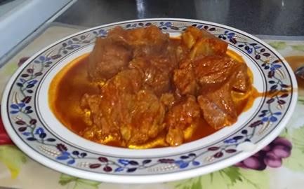 Carne de Cerdo en Achiote
