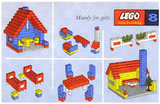 LEGO Dollhouse and Furniture - year 1962