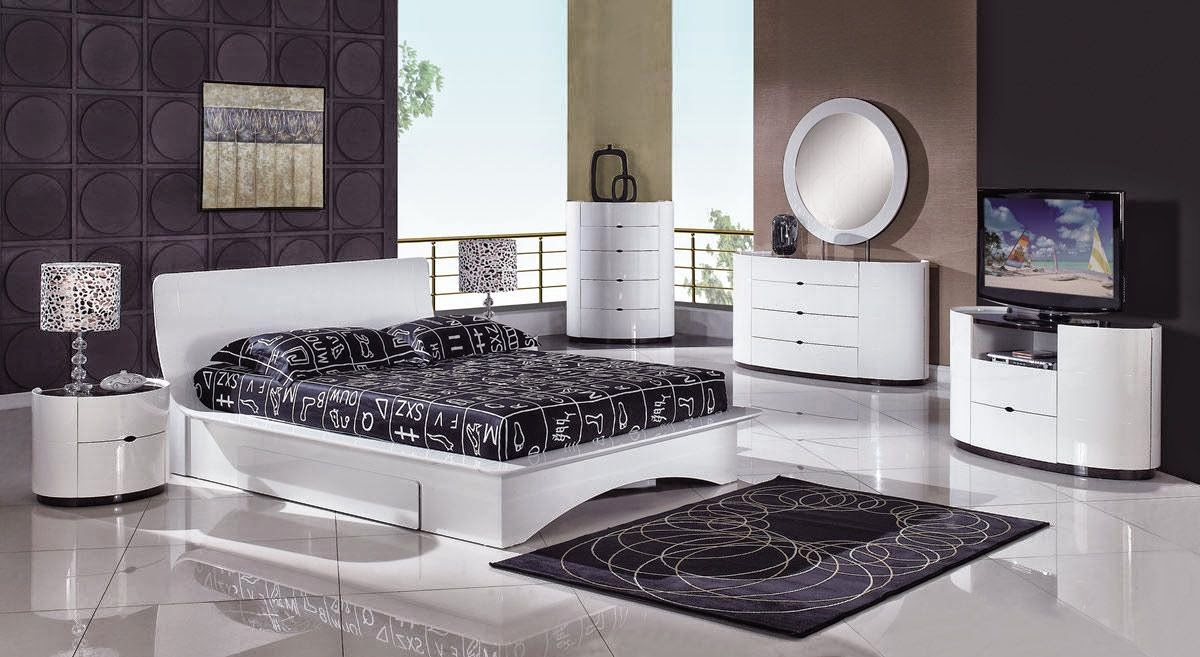 comment d corer une petite chambre coucher id es d co moderne. Black Bedroom Furniture Sets. Home Design Ideas