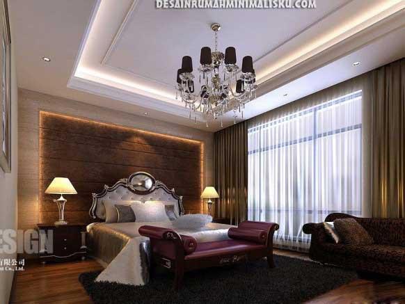seni kreasi keindahan alam kamar tidur elegant