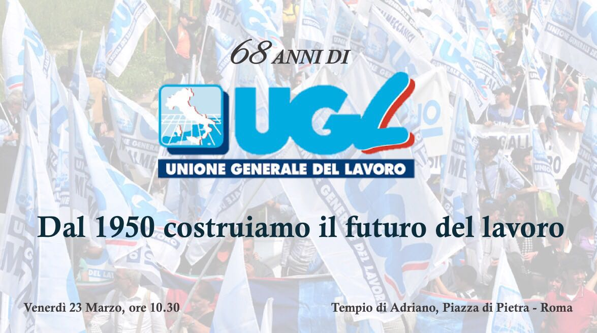 Anniversario UGL