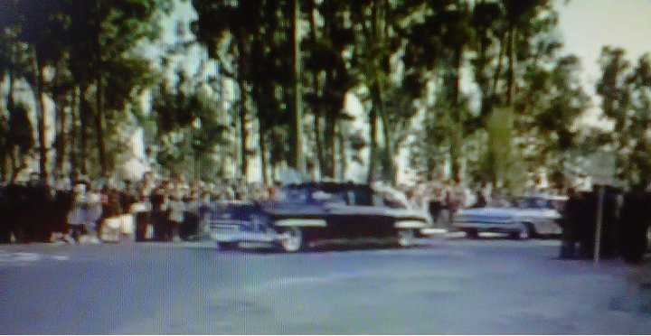 JFK USING IKE'S BUBBLETOP LIMO