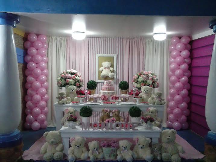 decoração urso