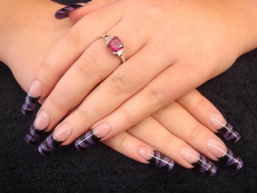 Typical nail salon services nail salon nail salon for Acrylic nails salon prices