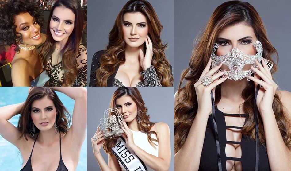 Miss Uberaba conta um pouco de sua preparação para o Miss Minas Gerais Universo 2017