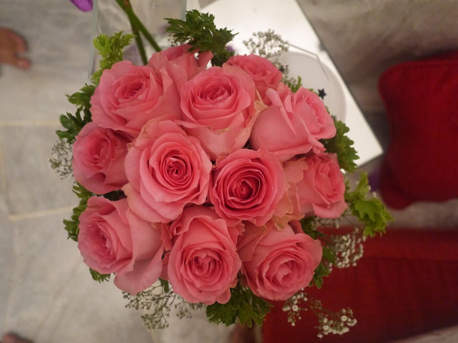 Wedding handbouquet flobees fresh flower handbouquet izmirmasajfo