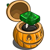FarmVille Haunted Hollow Platinum Emerald Unwither Ring