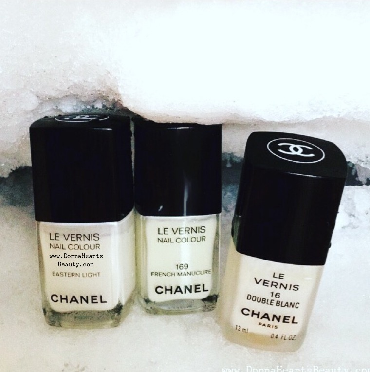 Chanel Nail Polish On Ice Anyone My Top 3 Best Whites