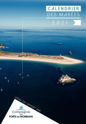 Calendrier des marées 2021 (CPM)