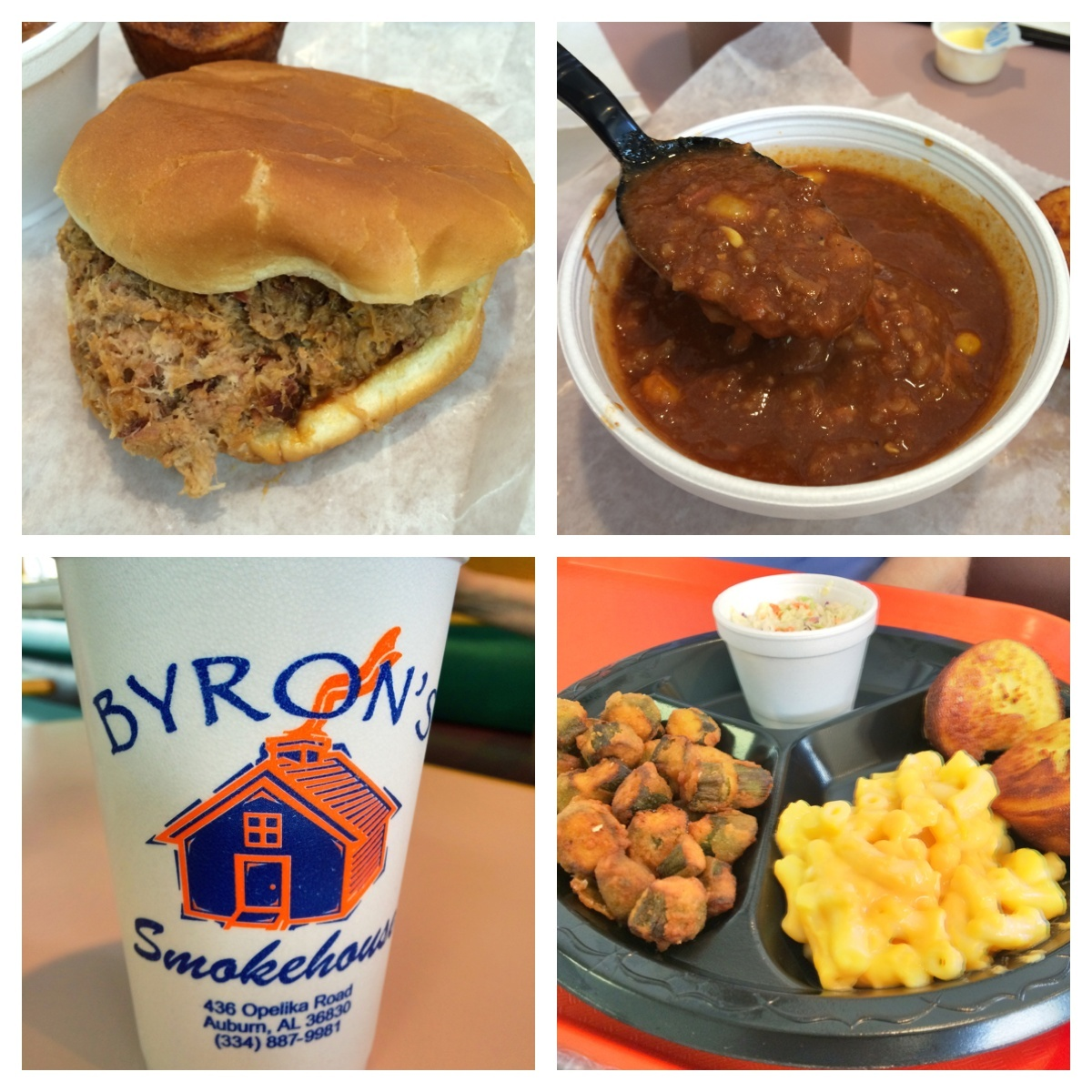 My favorite BBQ joint is Byron's.