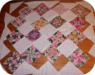 ProsperityStuff Mini Kaleidoscope Quilt Process
