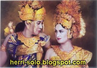 Pengantin Adat Bali, Lukisan Realis Herri Soedjarwanto