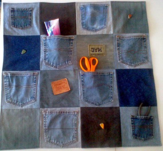 Сшить карманы из джинс 946